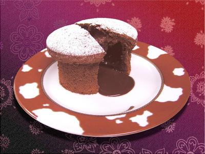 ホットチョコレートケーキ