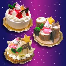 ページトップ「新着情報」にてクリスマスケーキのご案内です。